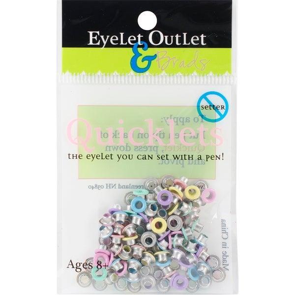 Eyelet Outlet Quicklets Round 84/Pkg-Spring 2