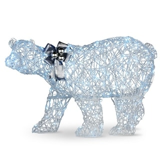 """Link to 48"""" Pre-Lit Standing Polar Bear Christmas Decoration - LED Lights Similar Items in Christmas Decorations"""