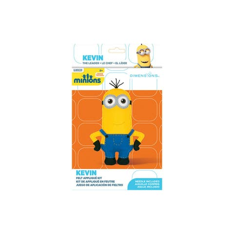 Dimensions Felt Applique Kit Minions Kevin