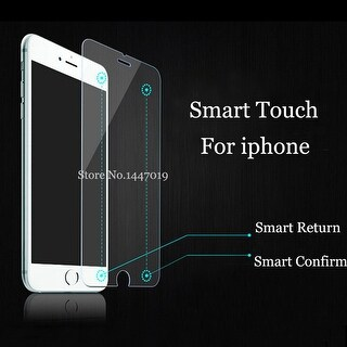 """iPhone 6 """"Back Button"""" Smart Screen Protector"""