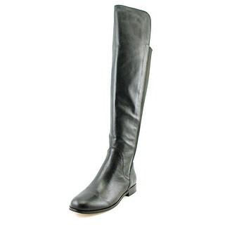 Corso Como Larissa Women Round Toe Leather Over the Knee Boot