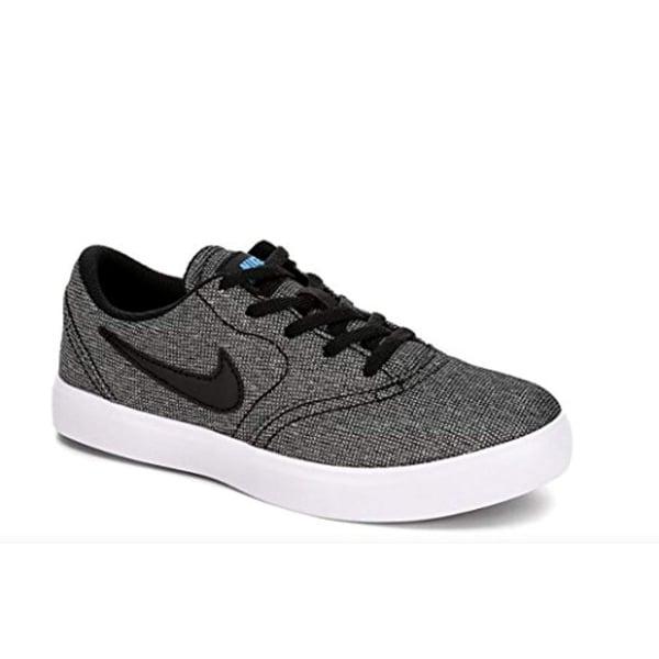5cfbd9aef1 Shop Nike Boy's Sb Check Canvas (Ps) Skateboarding Shoes (Black ...