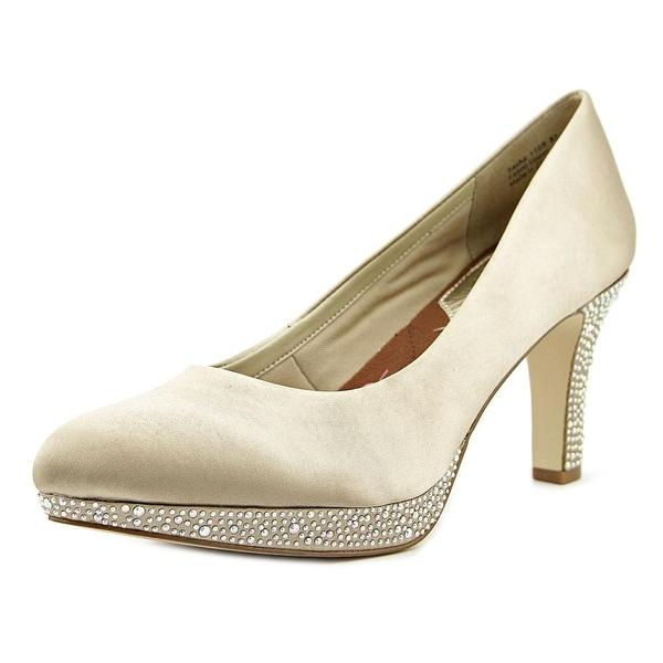 Ros Hommerson Sasha  N/S Round Toe Canvas  Heels