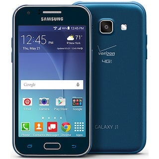 Samsung Galaxy J1 J100V 4GB Verizon Phone - Blue (Certified Refurbished)