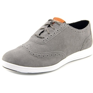 Cole Haan Misha Grand Oxford 11 Round Toe Suede Oxford