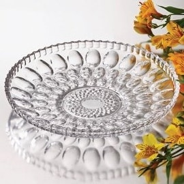 Studio Silversmiths Clarice Large Crystal Plate