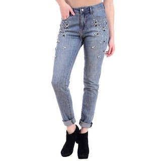 Lola Sienna-EWB, High Rise girlfriend jeans (Option: 27)
