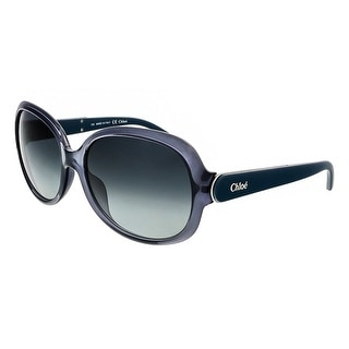Chloe CE611S 405 Denim Oval Chloe sunglasses