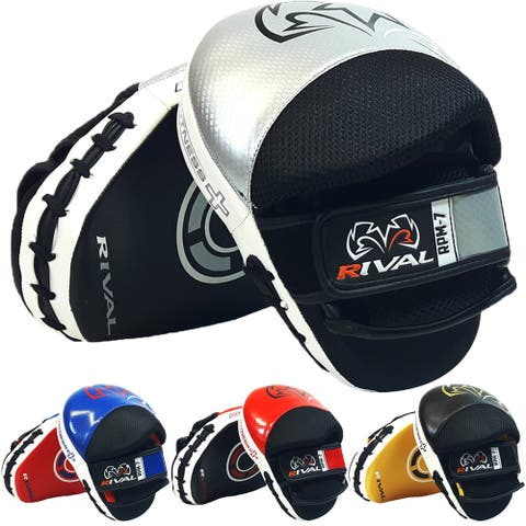 Rival Boxing Fitness+ Ergonomic Punch Mitts - One Sizze