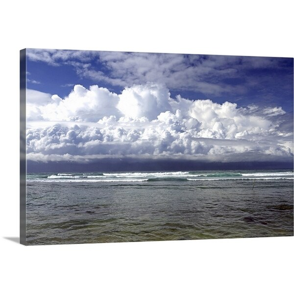 """""""Approaching tropical storm"""" Canvas Wall Art"""