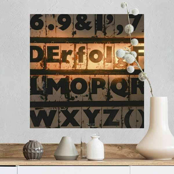 Shop German Word For Success Spelled Out Of Type Case Letters Poster Print Free Shipping On Orders Over 45 Overstock 16284402