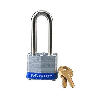 "Master Lock 3DLH Laminated Padlock, 2"" Shackle, 4 Pin"