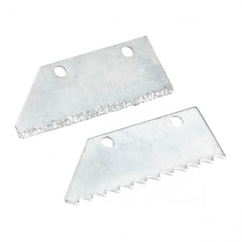 QEP 10025Q Replacement Blade Set with 1-Grit Edge & 1-Steel Edge