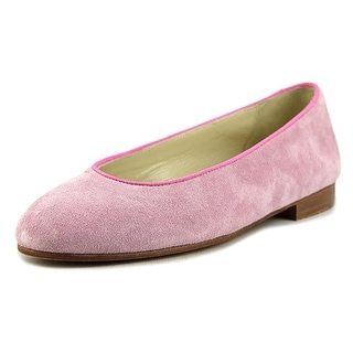Cherie Amour Ball Round Toe Suede Flats
