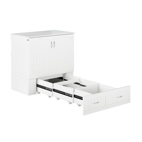 Southampton Murphy Bed Chest w/ USB Charging