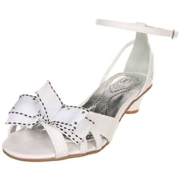 Bibi Girls Passarelle IV Peep-Toe Heels Leather Strappy