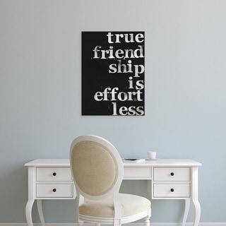 Easy Art Prints Deborah Velasquez's 'Friendship I' Premium Canvas Art
