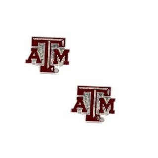 Texas A&M Aggies Post Stud Earring NCAA Charm Set