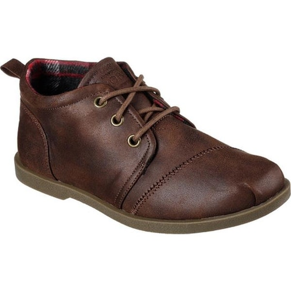 50be11dcb93 Shop Skechers Women s BOBS Chill Luxe Oxford Brown - Free Shipping ...