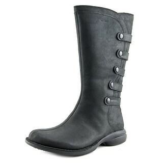 Merrell Captiva Women Round Toe Leather Black Mid Calf Boot
