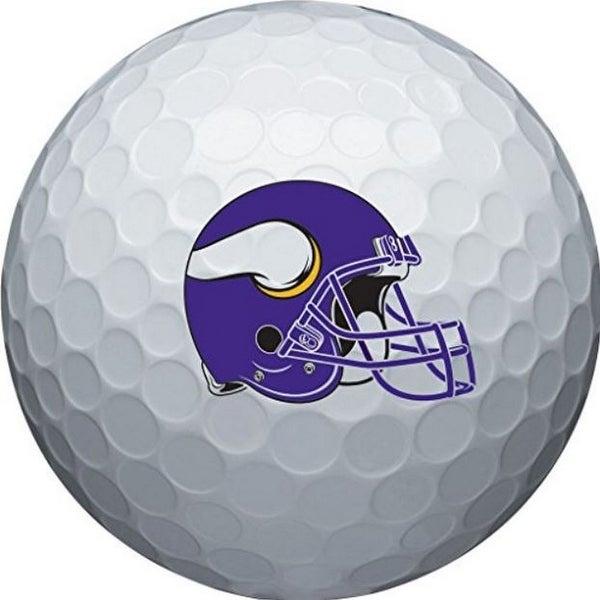 8bfc3c5a Wilson NFL Minnesota Vikings Golf Balls Team Logo Wilson Ultra 500, 6 Pack  - One Size
