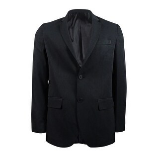 Kenneth Cole Reaction Men's Classic-Fit Stripe Blazer (Black Combo, M) - black combo - M