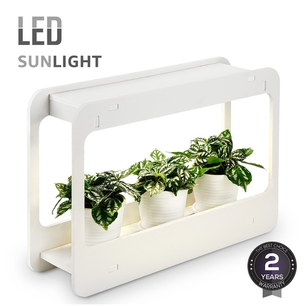 Plant Herb Grow Led Light Kit Countertop Garden With Timer Function