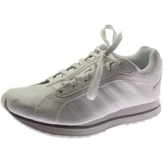 K-Swiss Womens Verstad III Faux Leather Contrast Trim Fashion Sneakers - 6.5 medium (b,m)