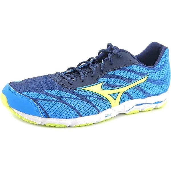 Mizuno Wave Hitogami 3 Round Toe Canvas Running Shoe