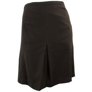 Jones New York Women's September Flare Skirt - ESPRESSO - 8
