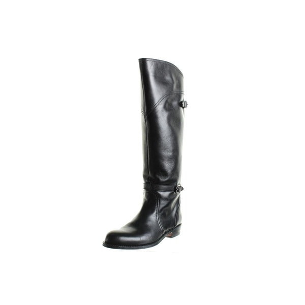 Frye Womens Dorado Riding Boots Leather Knee High