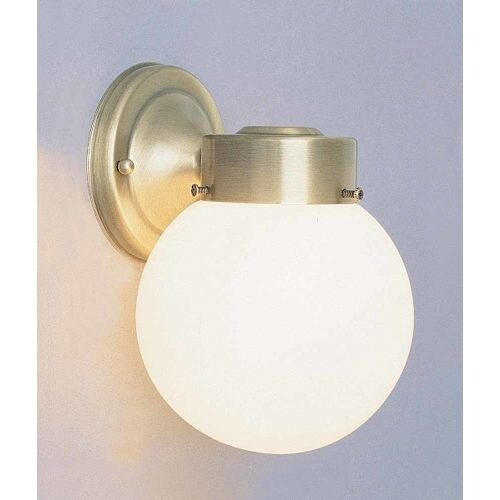 """Volume Lighting V1527 Single Light 8.5"""" Height Outdoor Wall Sconce with White Gl"""