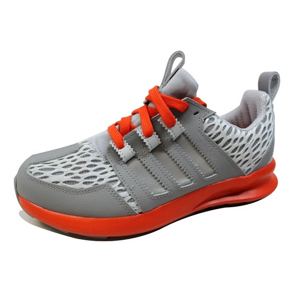 Adidas Men's SL Loop Runner Grey/Silver-Orange D69264 Size 8.5