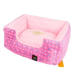 """Alpha Dog Series - """"Square Star Bed"""" (Pink)"""