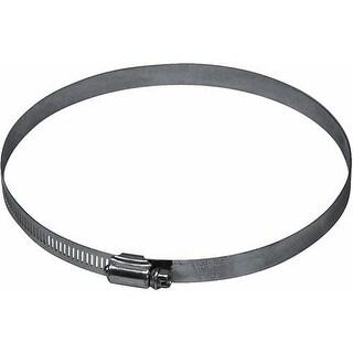 """Lambro 2841 Galvanized Worm Gear Clamp, 4"""", Aluminum"""