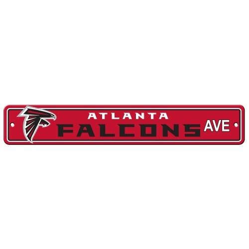 FREMONT DIE Inc Atlanta Falcons Plastic Street Sign Plastic Street Sign