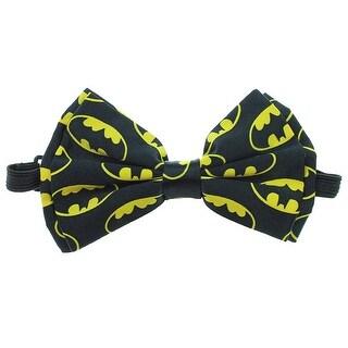DC Comics Batman Symbols All Over Print Bow Tie - One Size Fits most
