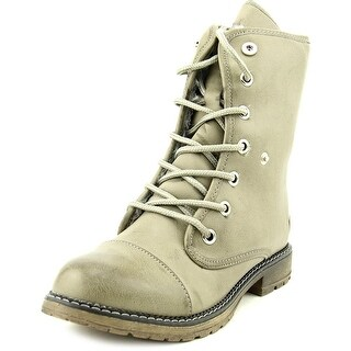 Dirty Laundry RazorBill Women Cap Toe Synthetic Gray Boot