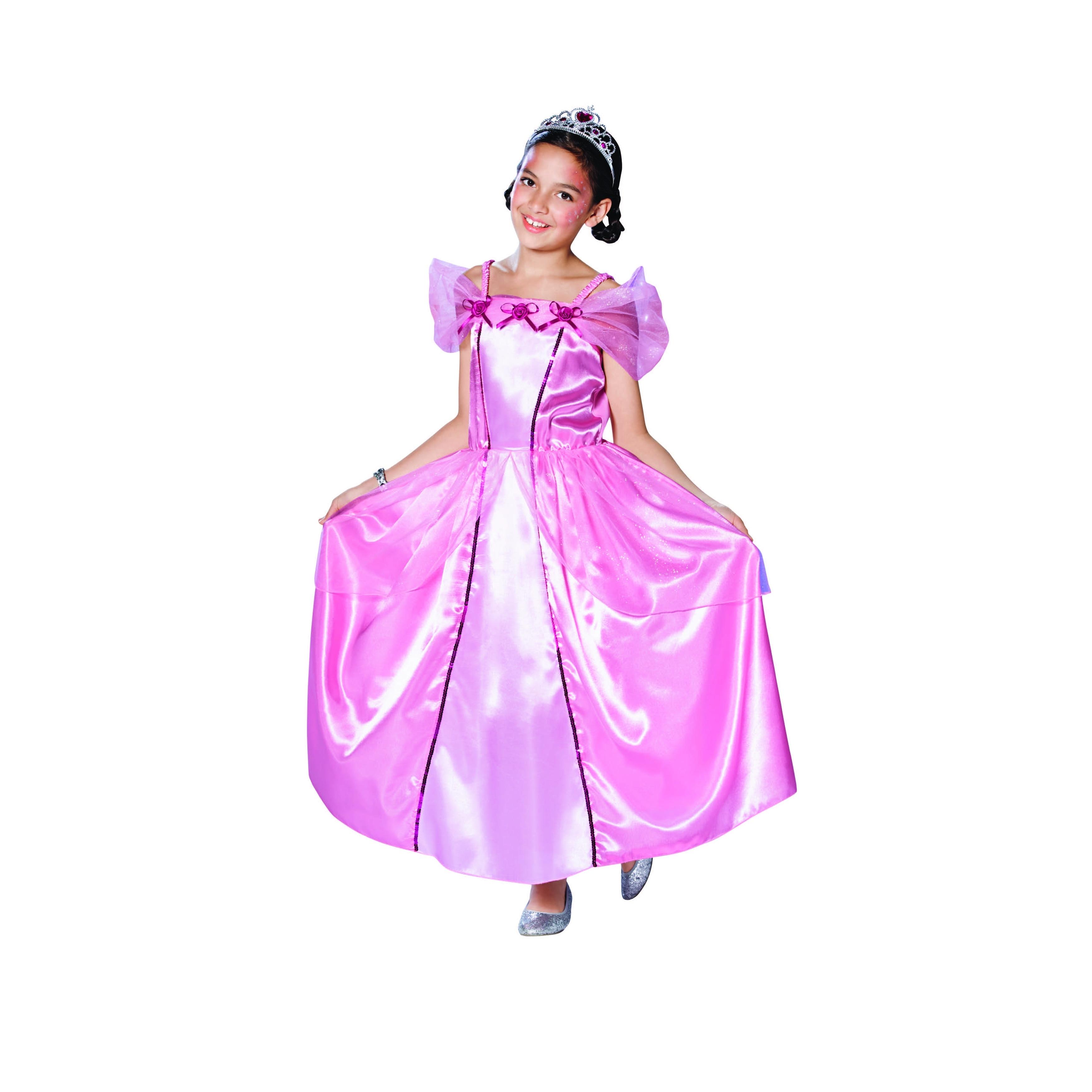 Shop Pink Princess Girl Children Halloween Costume Large On Sale Overstock 29658786