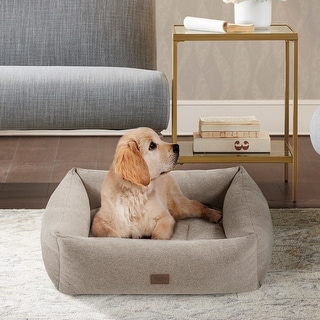 Link to Martha Stewart Riley 4-Sided Bolster With Ortho Base and Removable Cover Similar Items in Dog Beds & Blankets