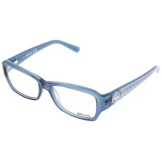 Just Cavalli JC0540/V 092 Smoky Blue Rectangle Optical Frames - smoky blue - 54-16-135