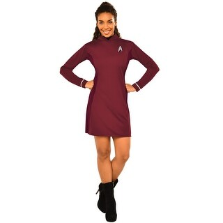 Rubies Deluxe Uhura Adult Costume - Red