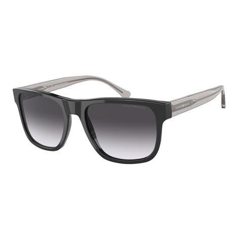 Emporio Armani EA4163 58758G 56 Black Man Pillow Sunglasses
