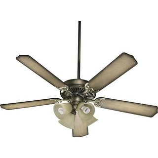"Quorum International 77525-8322 52"" 5 Blade 4 Light Ceiling Fan  - Light and Blades Included from the Capri Collection"