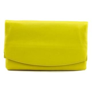 Skagen Anne Marie Clutch Women Synthetic Yellow Clutch