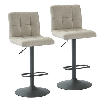Link to Sorb-Adjustable Height Fabric Stool, Set of 2 Similar Items in Dining Room & Bar Furniture