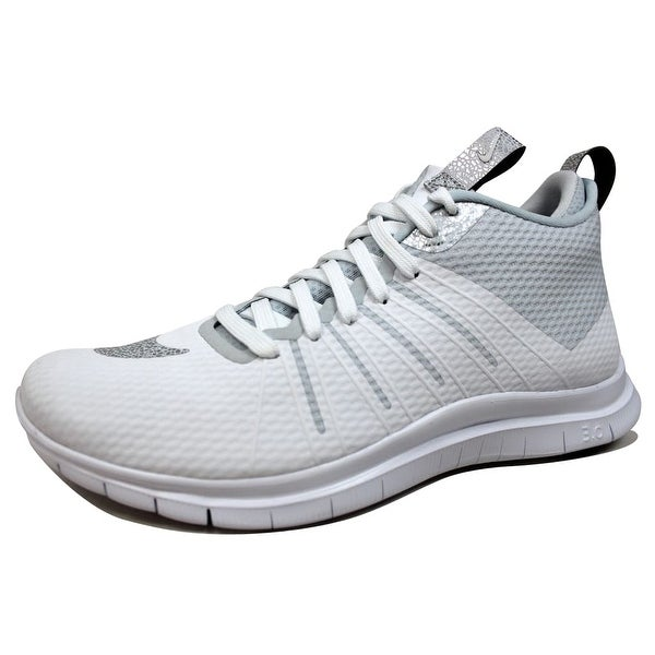 Nike Men's Free Hypervenom 2 FS White/Metallic Silver 805890-101
