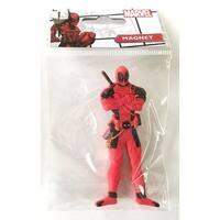 """Marvel Soft Touch PVC Magnet: """"Deadpool"""" - Multi"""