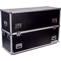 Fly Drive Case for Two 50 in. LED or Plasma Displays with Caster