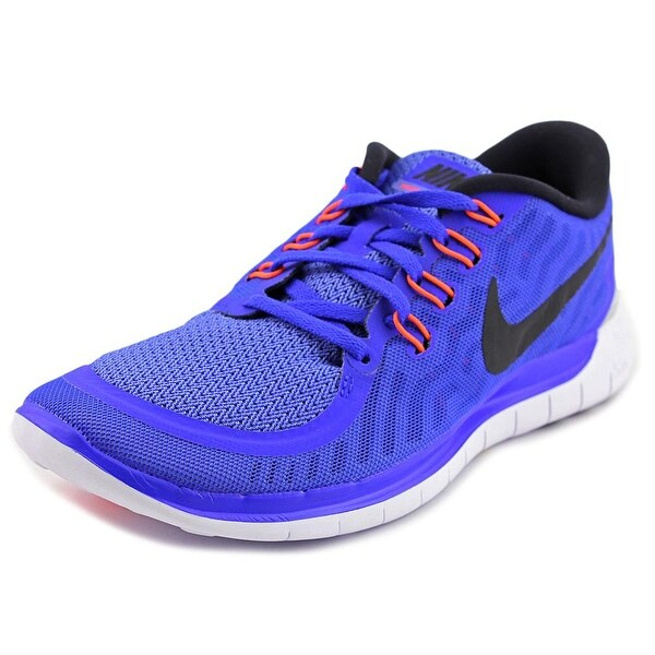 Nike Free 5.0 Women Round Toe Synthetic Blue Sneakers
